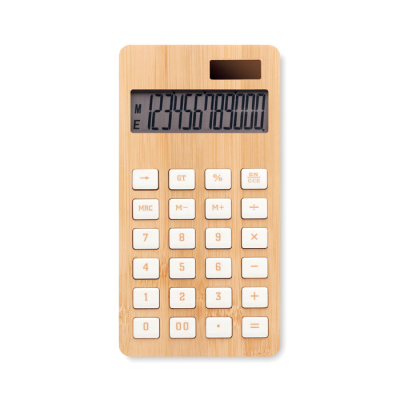 Picture of 12 DIGIT BAMBOO CALCULATOR