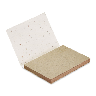 Picture of GRASS SEEDS PAPER MEMO CUBE BLOCK