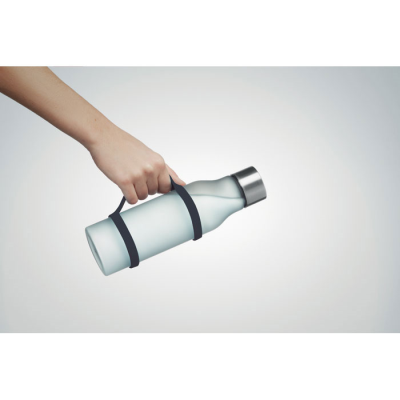 Picture of SILICON BOTTLE HOLDER STRAP in Black