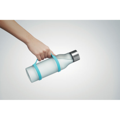 Picture of SILICON BOTTLE HOLDER STRAP in Turquoise