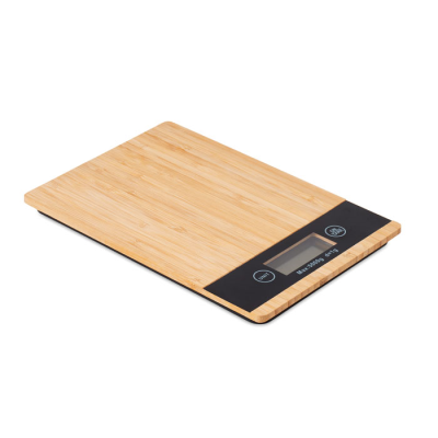 Picture of BAMBOO DIGITAL KITCHEN SCALES