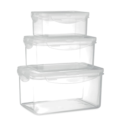 Picture of SET OF 3 FOOD STORAGE BOXES