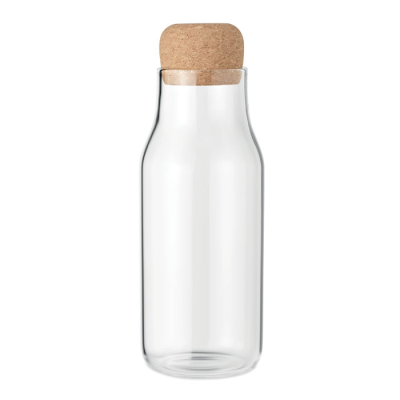 Picture of GLASS BOTTLE CORK LID 600 ML