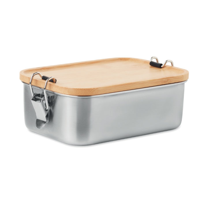 Picture of STAINLESS STEEL METAL LUNCH BOX 750ML