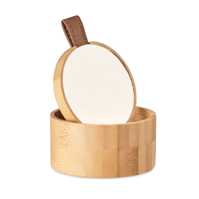 Picture of BAMBOO MIRROR JEWELLERY BOX