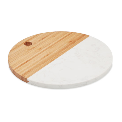 Picture of MARBLE &  BAMBOO SERVING BOARD