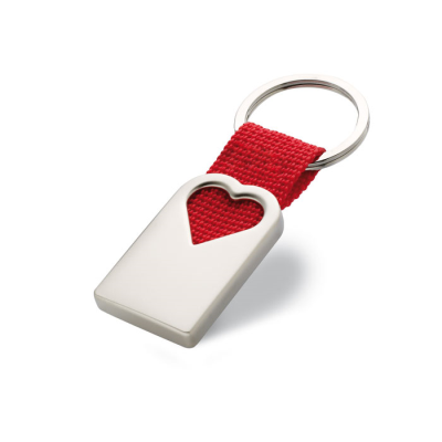 Picture of HEART METAL KEYRING