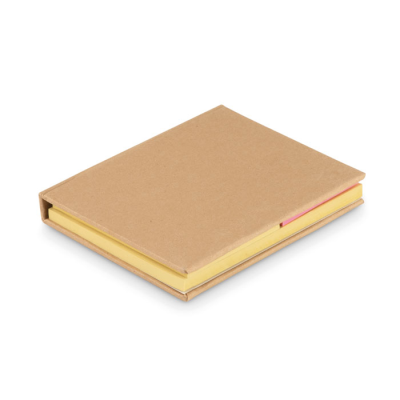 Picture of MULTI SIZE ADHESIVE NOTE PAD SET in Natural