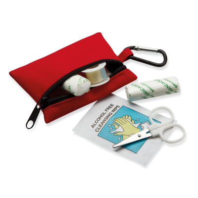 Picture of FIRST AID KIT W &  CARABINER