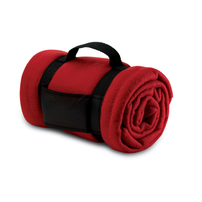 Picture of FLEECE PICNIC BLANKET in Red