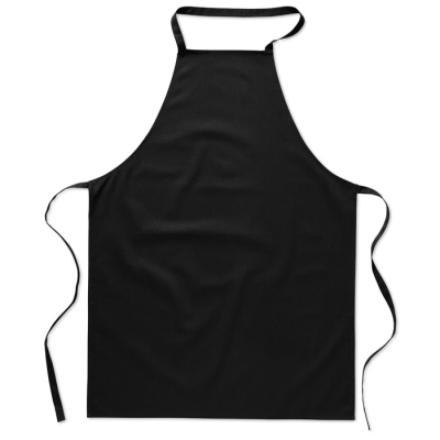 Picture of KITCHEN APRON in Black