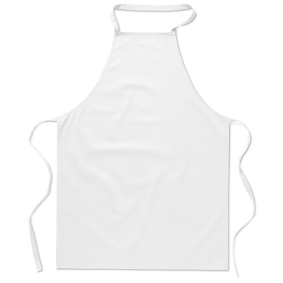 Picture of KITCHEN APRON in White