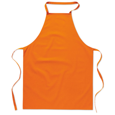 Picture of KITCHEN APRON in Orange