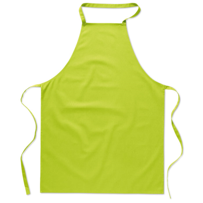 Picture of KITCHEN APRON in Lime Green