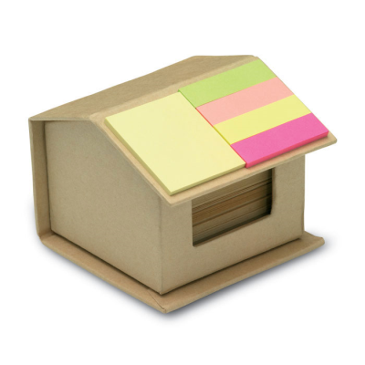 Picture of RECYCLED CARTON STICKY NOTES