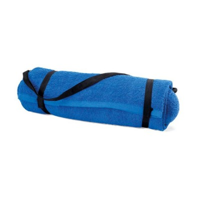 Picture of FOLDING BEACH TOWEL with Pillow in Royal Blue