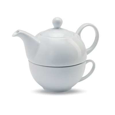 Picture of TEA SET in White