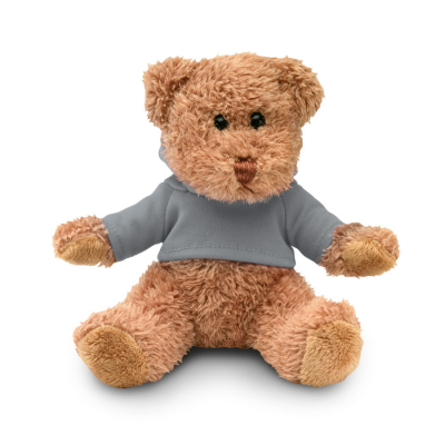 Picture of TEDDY BEAR PLUS with Hooded Hoody in Grey