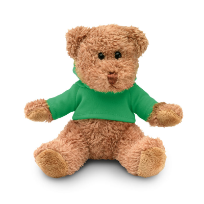 Picture of TEDDY BEAR PLUS with Hooded Hoody in Green