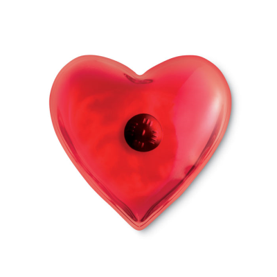 Picture of HEART SHAPE INSTANT HEAT HAND WARMER HOT PACK in Red