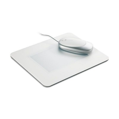 Picture of MOUSEMAT in White with Clear Transparent Window
