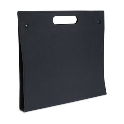 Picture of RECYCLED CONFERENCE FOLDER in Black