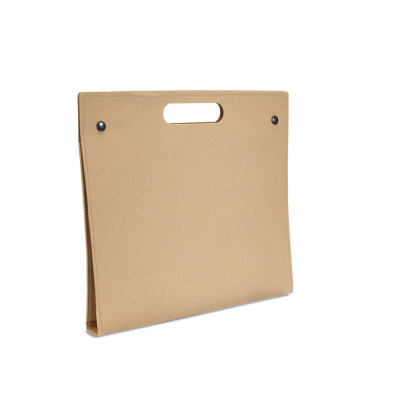 Picture of RECYCLED CONFERENCE FOLDER in Beige