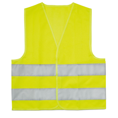 Picture of CHILDRENS SAFETY VEST in Neon Fluorescent Yellow