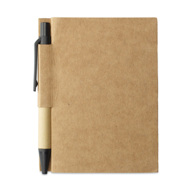 Picture of MEMO NOTE W &  MINI RECYCLED PEN