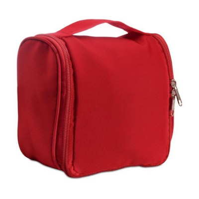 Picture of HANGING COSMETICS TOILETRY BAG in Red