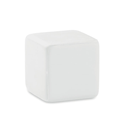 Picture of CUBE STRESS ITEM in White