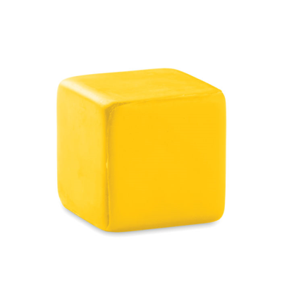 Picture of ANTI-STRESS SQUARE in Yellow