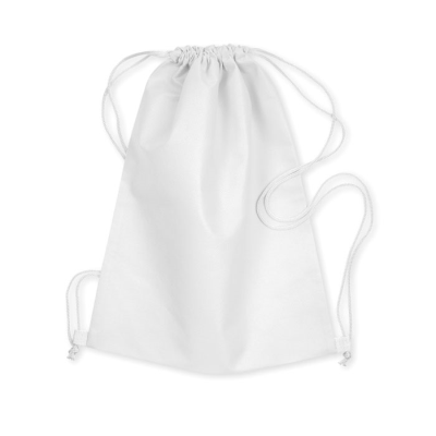 Picture of DRAWSTRING BAG in White