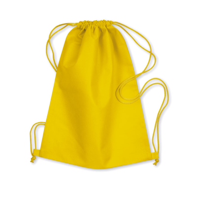 Picture of 80G NONWOVEN DRAWSTRING BAG in Yellow