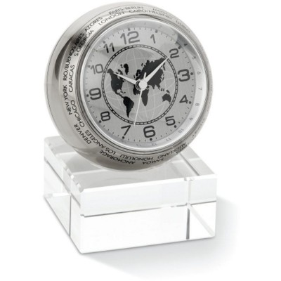 Picture of ANALOGUE DESK CLOCK in Shiny Silver