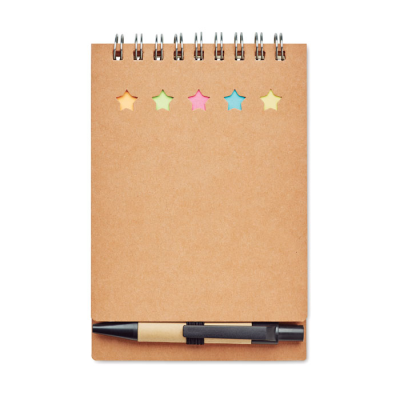 Picture of NOTE BOOK with Pen Sticky Notes