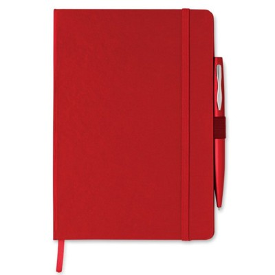 Picture of A5 NOTE BOOK with Pen in Black