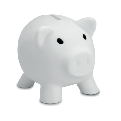Picture of PIGGY BANK in White