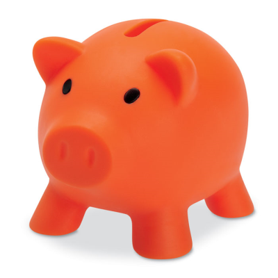 Picture of PIGGY BANK in Orange