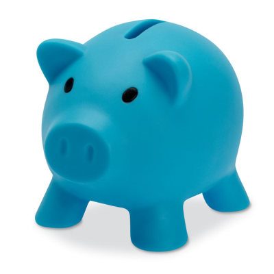 Picture of PIGGY BANK in Turquoise
