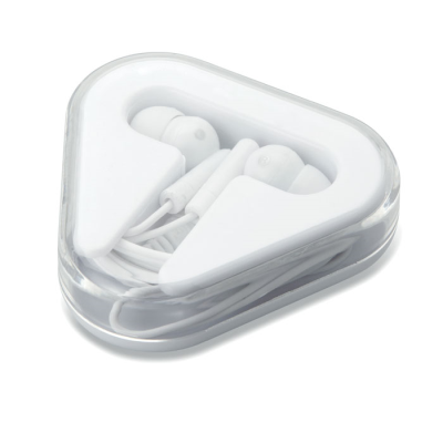 Picture of EARPHONES in White