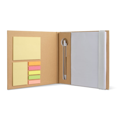 Picture of RECYCLED NOTE BOOK in White