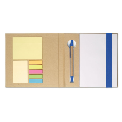 Picture of NOTE BOOK W &  STICKYNOTES & PEN