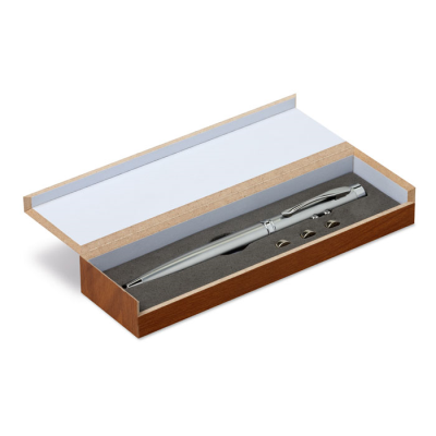 Picture of MULTI FUNCTION PEN in Silver