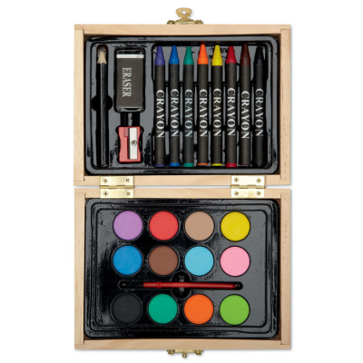 Picture of PAINTING SET in Wood Box