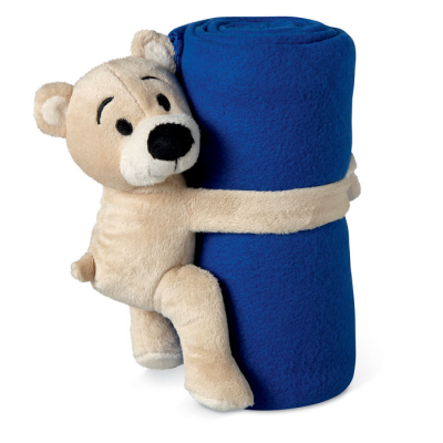 Picture of FLEECE BLANKET with Bear