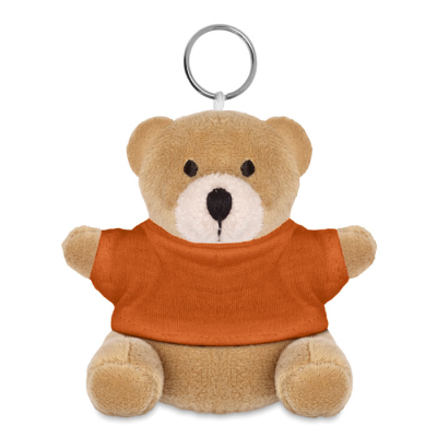 Picture of TEDDY BEAR KEYRING in Orange