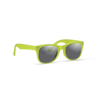 Picture of CLASSIC & STYLISH CHILDRENS SUNGLASSES in Lime Green