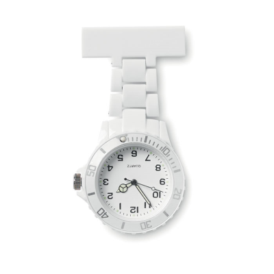 Picture of ANALOGUE NURSE WATCH in White