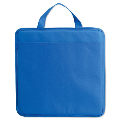 Picture of NON WOVEN STADIUM SEAT CUSHION with Pocket in Blue